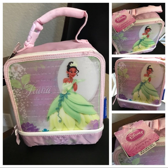 da46c92183e7 New Disney Tiana Lunch Box NWT